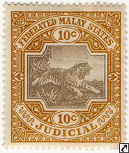 Malaya States Revenue Stamps