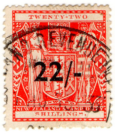 (356) 22/- Red (1939)