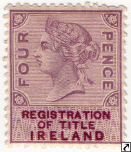 Queen Victoria Revenue Stamps