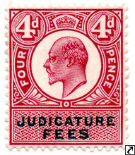Edward VII Revenue Stamps
