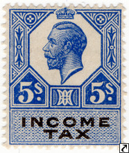 George V Revenue Stamps