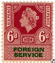 Elizabeth II Revenue Stamps