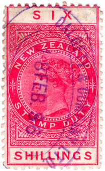 (240) 6/- Red (1882)