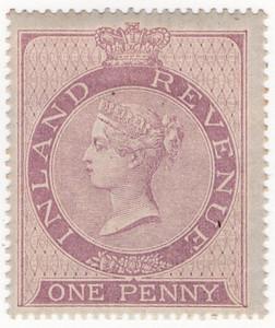 02 1d Lilac 1860