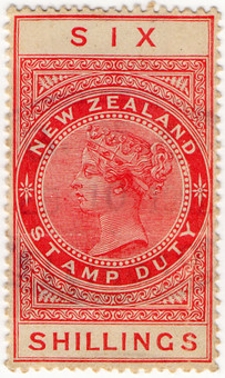 (219) 6/- Red (1880)
