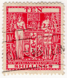 (312) 10/- Red (1931)
