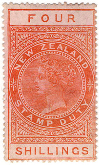 (238) 4/- Red-Brown (1882)