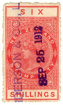 (240a) 6/- Red (1882)