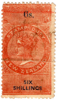 (102) 6/- Red & Blue (1867)