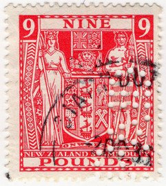 (329) £9 Red (1931)