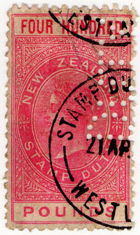 (283) £400 Red (1882)