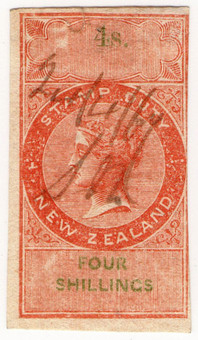 (28) 4/- Red & Green (1866)