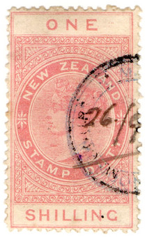 (213) 1/- Red (1880)
