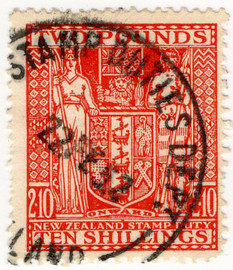 (320) £2 10/- Red (1931)